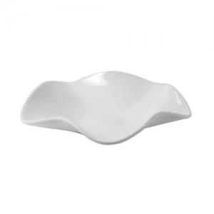 Блюдо для выкладки ВОЛНА L 39см h 10см 1,5л, пластик белый