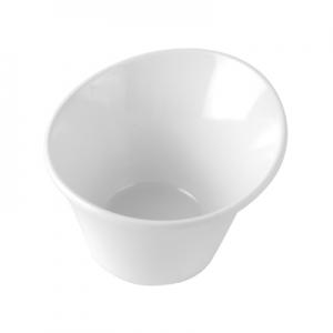 Чаша REEF L 9,4см w 9см h 6,4см 0,12л, пластик белый матовый