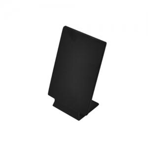 Подставка для меню L 21см w 14,8см, пластик черный