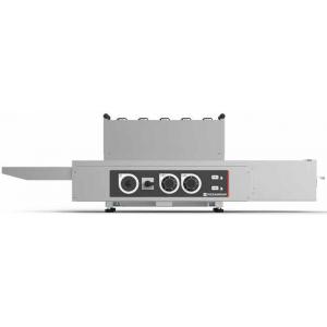Печь для пиццы электрическая, конвейерная, 1 камера 450х380х75мм, электромех.управление, нерж.сталь, инвертор