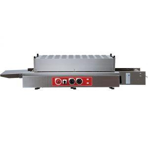 Печь для пиццы электрическая, конвейерная, 1 камера 900х380х75мм, электромех.управление, нерж.сталь, инвертор