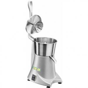 Соковыжималка электрическая для цитрусовых, настольная,  980об/мин, корпус серый, прижимной рычаг