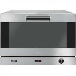 Печь электрическая конвекционная,  4GN1/1 или 4х(600х400мм), управление электронное, корпус нерж.сталь, предварительный нагрев, увлажнение, гриль