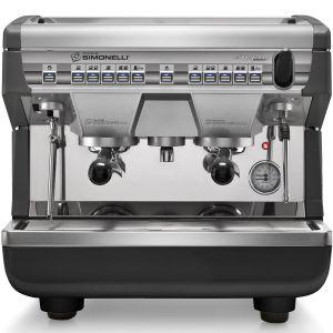 Кофемашина-автомат, 2 группы, бойлер  7.5л, черная, экономайзер