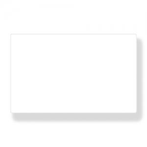 Ценник L 8,6см w 5,4см (набор 10шт) ламинированный, белый