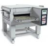 Печь для пиццы электрическая, конвейерная, 1 камера 500х850х100мм, электронное управление, нерж.сталь, подставка передвижная