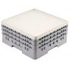 Крышка для кассет L 50см w 50см h 2,4см герметичная, светло-серый полипропилен