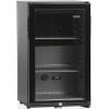 Шкаф холодильный д/напитков (минибар),  52л, 1 дверь стекло, 2 полки, ножки, +5/+12С, абсорбционное охл., чёрный