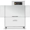 Машина посудомоечная конвейерная, 500х500мм,  83/107кор/ч, левая, теп.вода, защита от брызг