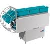 Машина посудомоечная конвейерная д/корзин 510х500мм, 1.5-2.0м/мин, левая, гор.вода, верхняя загрузка, защита от брызг, доз.опол./моющ.