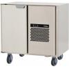 Стол морозильный, GN1/1, L0.86м, б/столешницы, 2 выд.секции, ролики, -15/-25С, нерж.сталь, дин.охл., агрегат справа, короб вст.