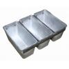 Форма для выпечки хлеба L 14,5см w 10см h 10см 350-450г 3 секции без ручек, алюминий
