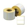 Этикетки прямоугольная 58х30мм термо ЭКО белая