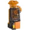 Соковыжималка для цитрусовых, электрическая, настольная, автоматическая, 15шт./мин, электронное управление, бункер, оранжевая, кран нерж.сталь