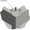 Комплект для жесткого крепления модуля настольного к подставке