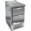 Стол холодильный, GN2/3, L0.57м, борт H50мм, 2 ящика,  ножки, -2/+10С, нерж.сталь, дин.охл., агрегат нижний