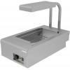 Мармит электрический, 1 ванна 1GN1/1, настольный, для картофеля фри, нерж.сталь AISI304, нагрев сухой, ИК подсветка