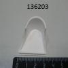 Вставка ЭМК70К-024-01 Заглушка торцевая на направляющие  линии «Аста левая