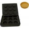 Форма для аппарата для тарталеток и вафель CookMatic,  9 ячеек цилиндр D81х21мм