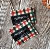 Салфетка влажная одноразовая в индивидуальной упаковке Freshday КЛЕТКА