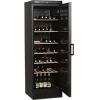 Шкаф холодильный д/вина, 118бут. (372л), 1 дверь глухая, 6 полок, ножки+колеса, +6/+18С, стат.охл., чёрный, R600a