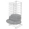 Подставка для противеней (на 18шт) h 70см вертикальная, нерж.сталь