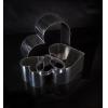 Кольцо (форма) СЕРДЦЕ D 14см h 4см, нерж.сталь