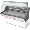 Витрина холодильная напольная, горизонтальная, L1.77м, 1 полка, 0/+7С, стат.охл., без щитков, стекло фронтальное гнутое