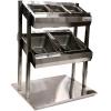 Диспенсер для столовых приборов, хлеба и подносов, 2GN1/1+3GN1/6, встраиваемый