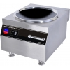 Плита индукционная WOK, 1 конфорка 1х8.0кВт круглая стеклокерамическая, настольная