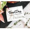 Салфетка влажная одноразовая в индивидуальной упаковке Freshday БЕЛАЯ