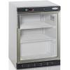Шкаф морозильный,  200л, 1 дверь стекло, 2 полки, ножки, -10/-24С, стат.охл., белый, обогрев стекла, R290a