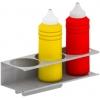 Держатель для 3 бутылок с соусами, для станции для хот-догов HDCT и станции для сэндвичей CTSM, CTSMG, нерж.сталь