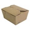 Коробка универсальная 800мл бумага крафт двухсторонний биоразлагаемая