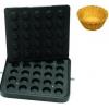 Форма для аппарата для тарталеток и вафель CookMatic, 25 ячеек кекс D50х21мм