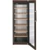 Шкаф холодильный для вина бытовой, 253бут., 1 дверь стекло, 6 полок, ножки, +5/+20С, терра, 1 температурная зона