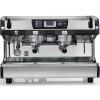 Кофемашина-полуавтомат, 2 группы высокие, мультибойлерная, черная, 380V, подогрев чашек