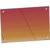 Панель фронтальная декоративная для ПСПХ-70Х линии раздачи Hot-Line, L0.63м, красное золото