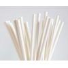 Трубочки для напитков бумажные D 6мм L 197мм белые