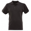 Футболка ПОЛО мужская короткие рукава черная, р-р XXL (54)
