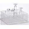 Корзина посудомоечная для стаканов для машин посудомоечных UC-M, UC-L, UC-XL, PT-500, PT-M, PT-L, PT-XL, GS630, 500х500мм (размер L), без рядов, пров
