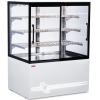 Витрина тепловая напольная, вертикальная, для самообслуживания, L0.99м, 3 полки, +30/+80С, жемчужно-белая, 4 двери-купе