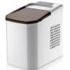 Льдогенератор для кускового льда,  15кг/сут, бункер 0.6кг, возд.охлаждение, корпус нерж.сталь, форма «пальчик», настольный, заливной
