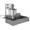 Аппарат пончиковый полуавтоматический,  300шт/ч, ванна 12л, нерж.сталь, объем пончика 20-60г (плунжерная пара D36мм), привод автомат., фискальная памя