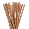 Трубочки для напитков бумажные D 6мм L 197мм крафт