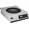 Плита индукционная WOK, 1 конфорка 1х3.5кВт круглая стеклокерамическая, настольная