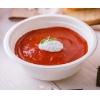 Тарелка суповая 500мл сахарный тростник белая