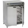 Шкаф тепловой, 3GN1/1, 2 двери распашные глухие, +30/+130C, нерж.сталь, 220V, колеса, электромех.упр., увлажнение, вместимость 120 тарелок D340мм