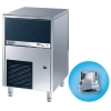 Льдогенератор для кускового льда,  33кг/сут, бункер 16.0кг, вод.охлаждение, корпус нерж.сталь, форма «кубик» A
