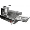Аппарат пончиковый полуавтоматический,  300шт/ч, ванна 12л, нерж.сталь, объем пончика 20-60г (плунжерная пара D30мм), привод механический